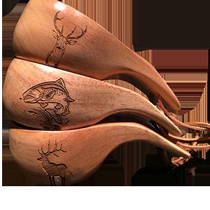 Kåsa Kronhjort1, lax1 och hjort1