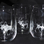 Whiskyglas i kristall