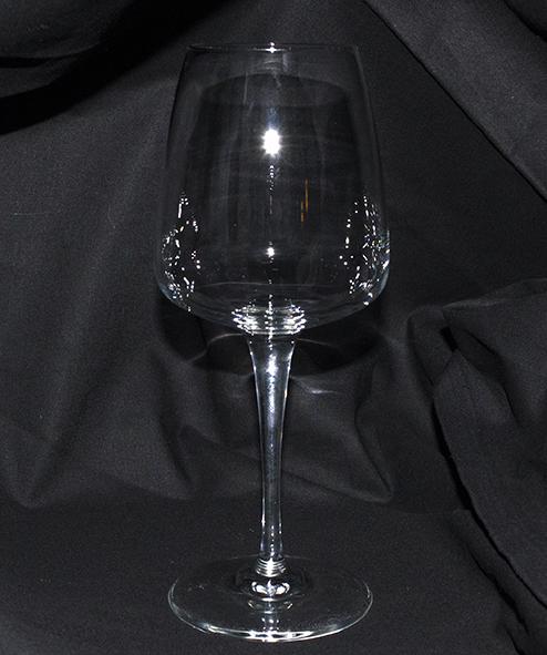 Rödvinsglas Aurum i kristall